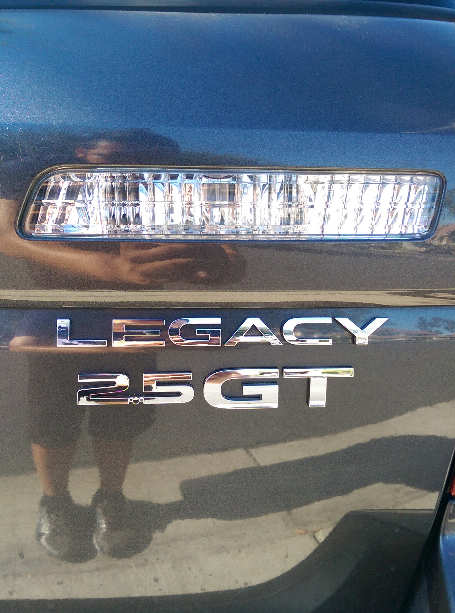 The car next door subaru legacy now with badges and r2d2 for Ebay motors com cars and trucks