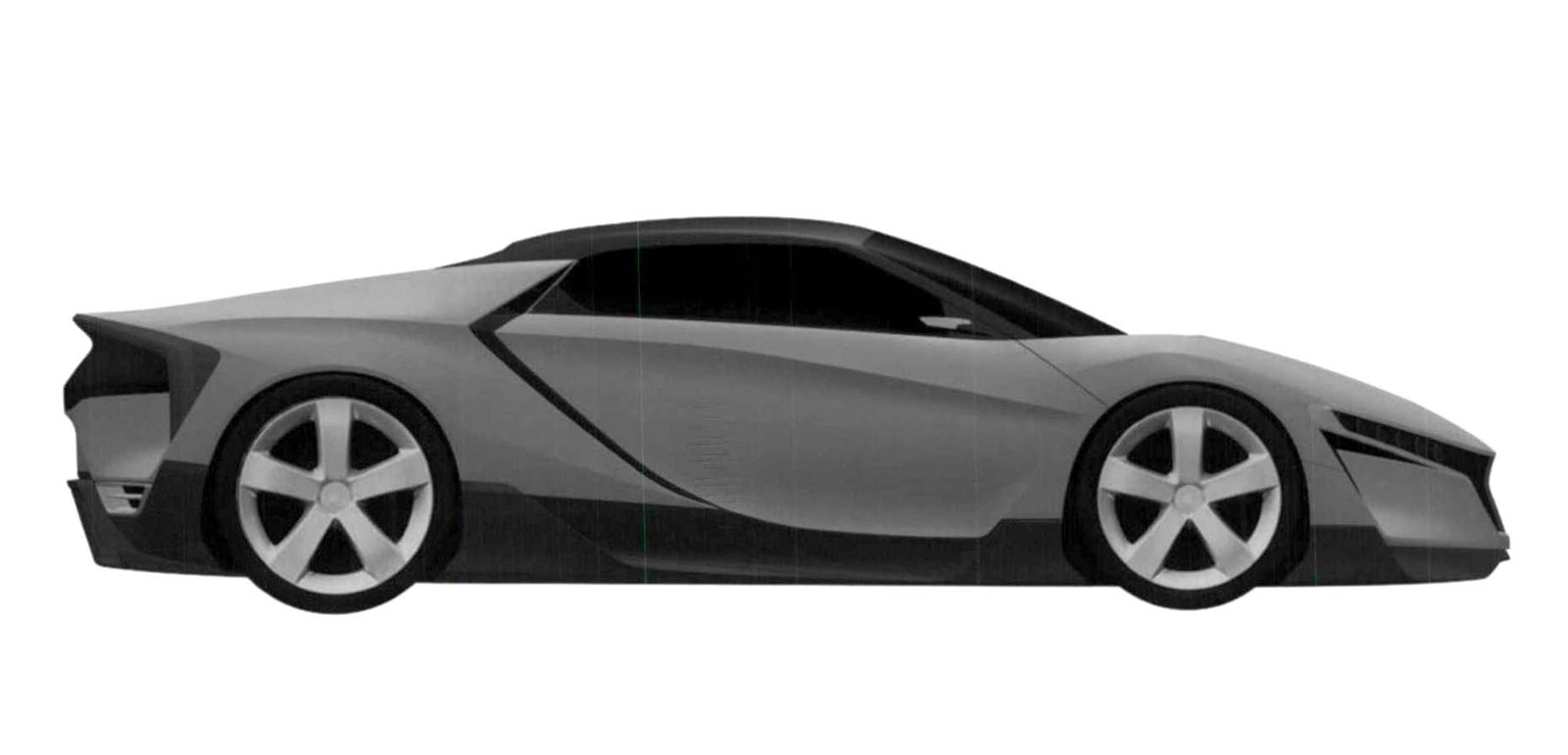 Is This CAD Sketch The New Mid-Engine Honda S2000? - Art of Gears