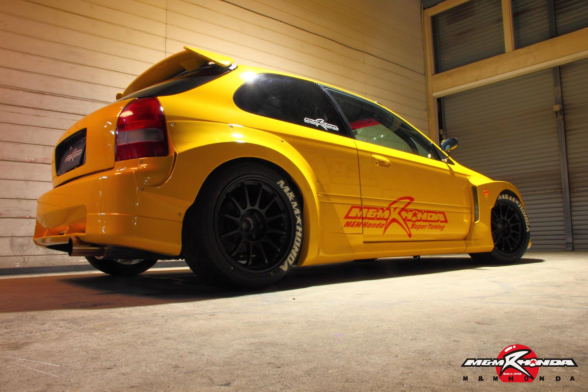 This Wide Body Honda Civic Type R By M M Honda Racing Is Perfection Art Of Gears