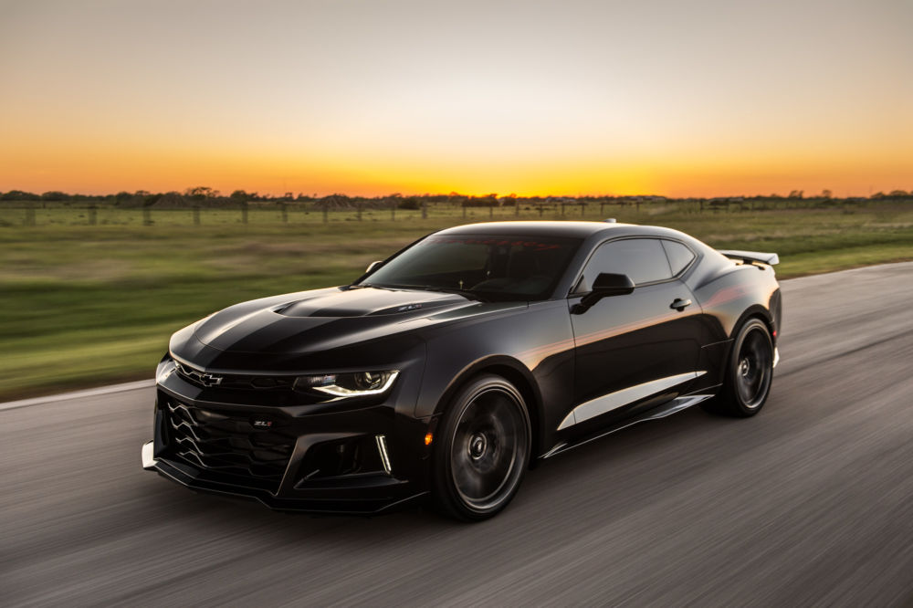 Hennessey S 1000 Hp The Exorcist Camaro Zl1 To Battle The