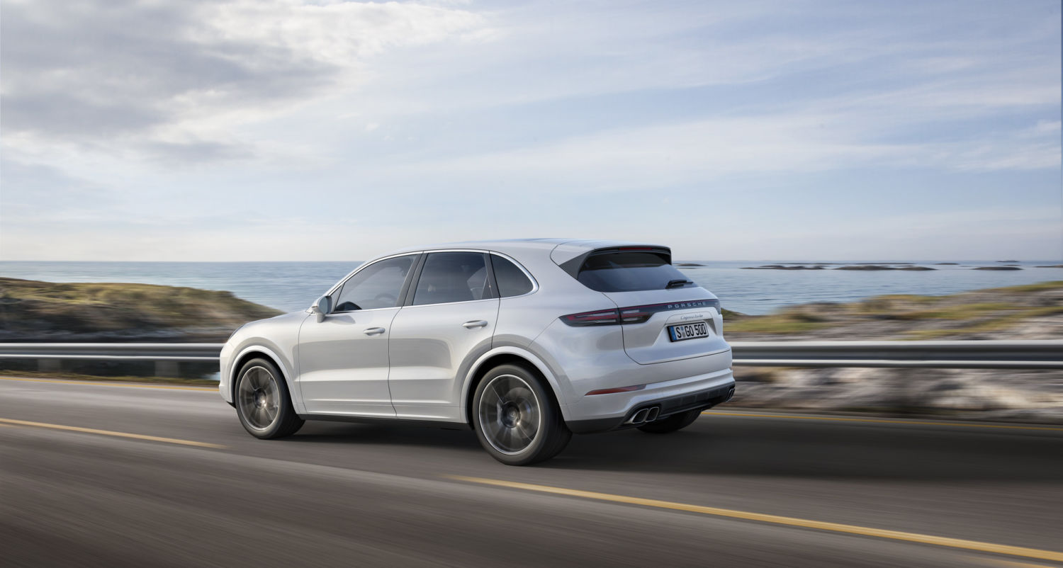 2019 Porsche Cayenne Turbo Suv Wants To Be A Sports Car