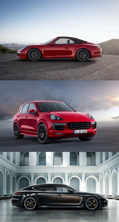 Porsche All New Gts Models And A Panamera Exclusive Series Art Of