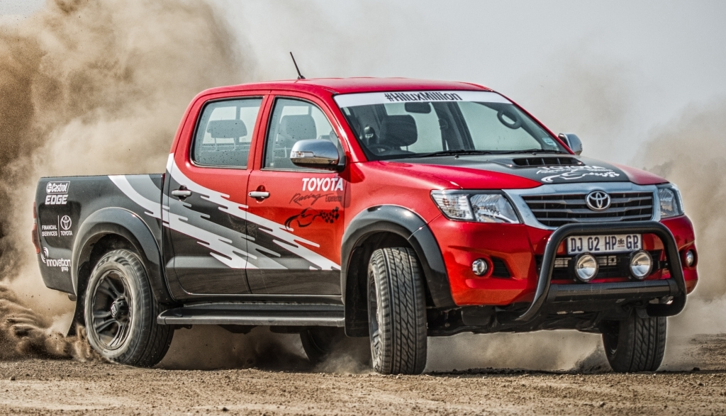 This Dakar Spec Hilux With IS F Engine Swap Is An SVT Raptor Slayer