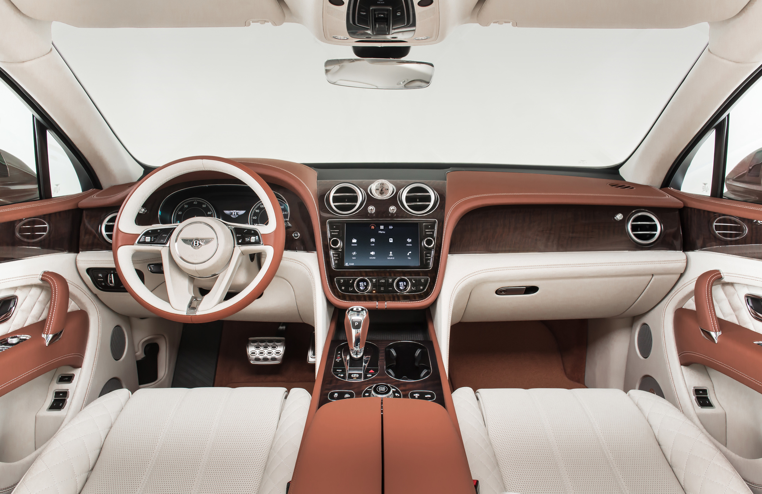 The 2016 Bentley Bentayga Is 600 HP Of Brawn And Beauty - Art of Gears