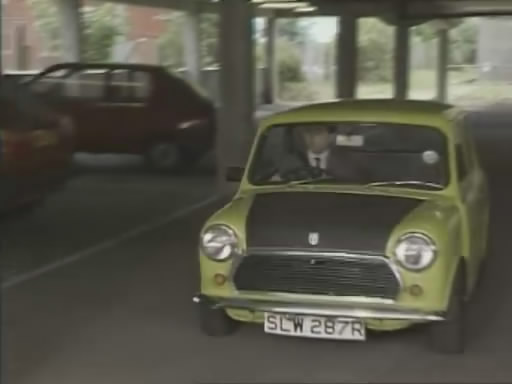 Mr bean celebrates 25th anniversary by driving on top of his mini i001841 i035822 solutioingenieria Gallery