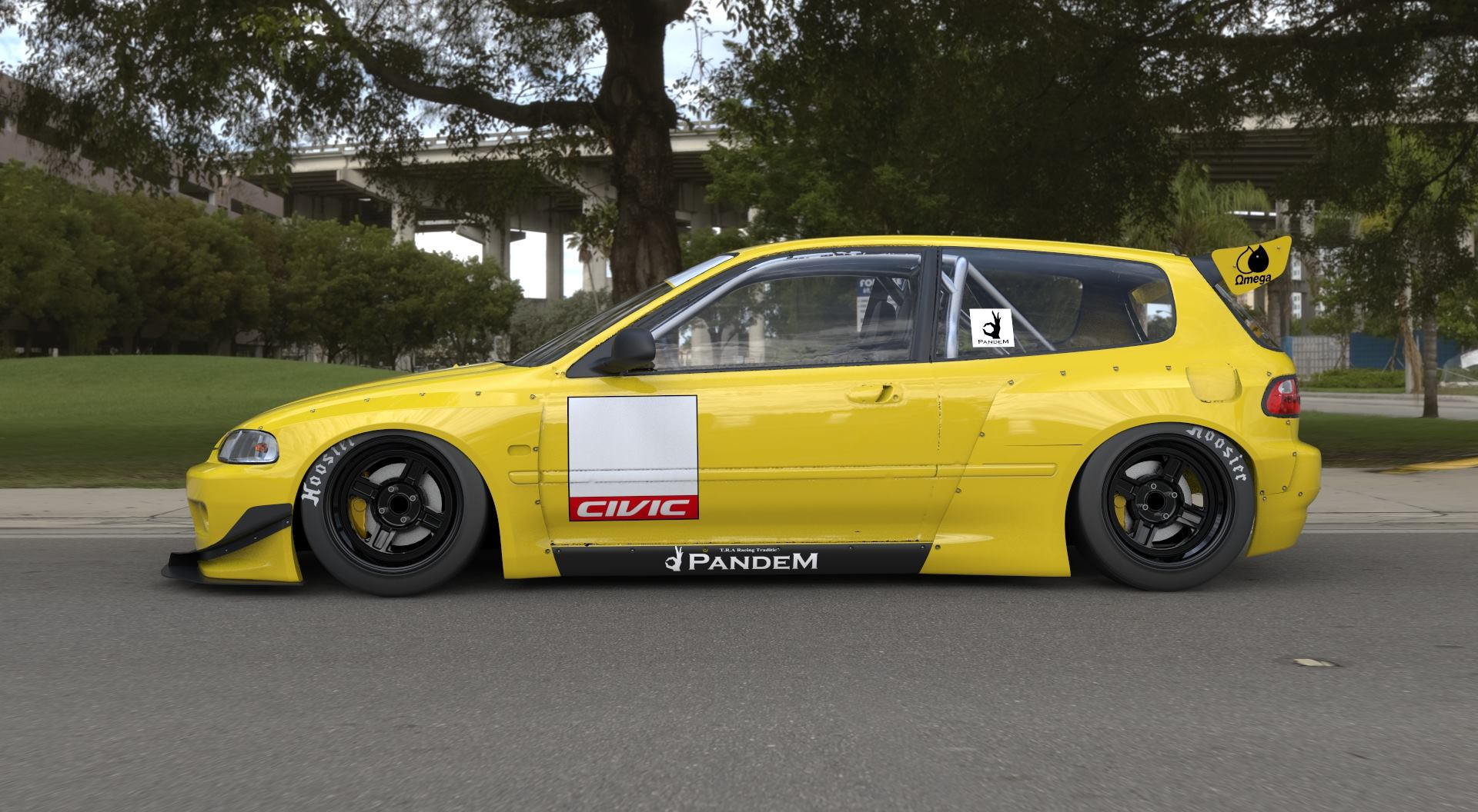 Rocket Bunny Aero Package Introduced For Eg Civic
