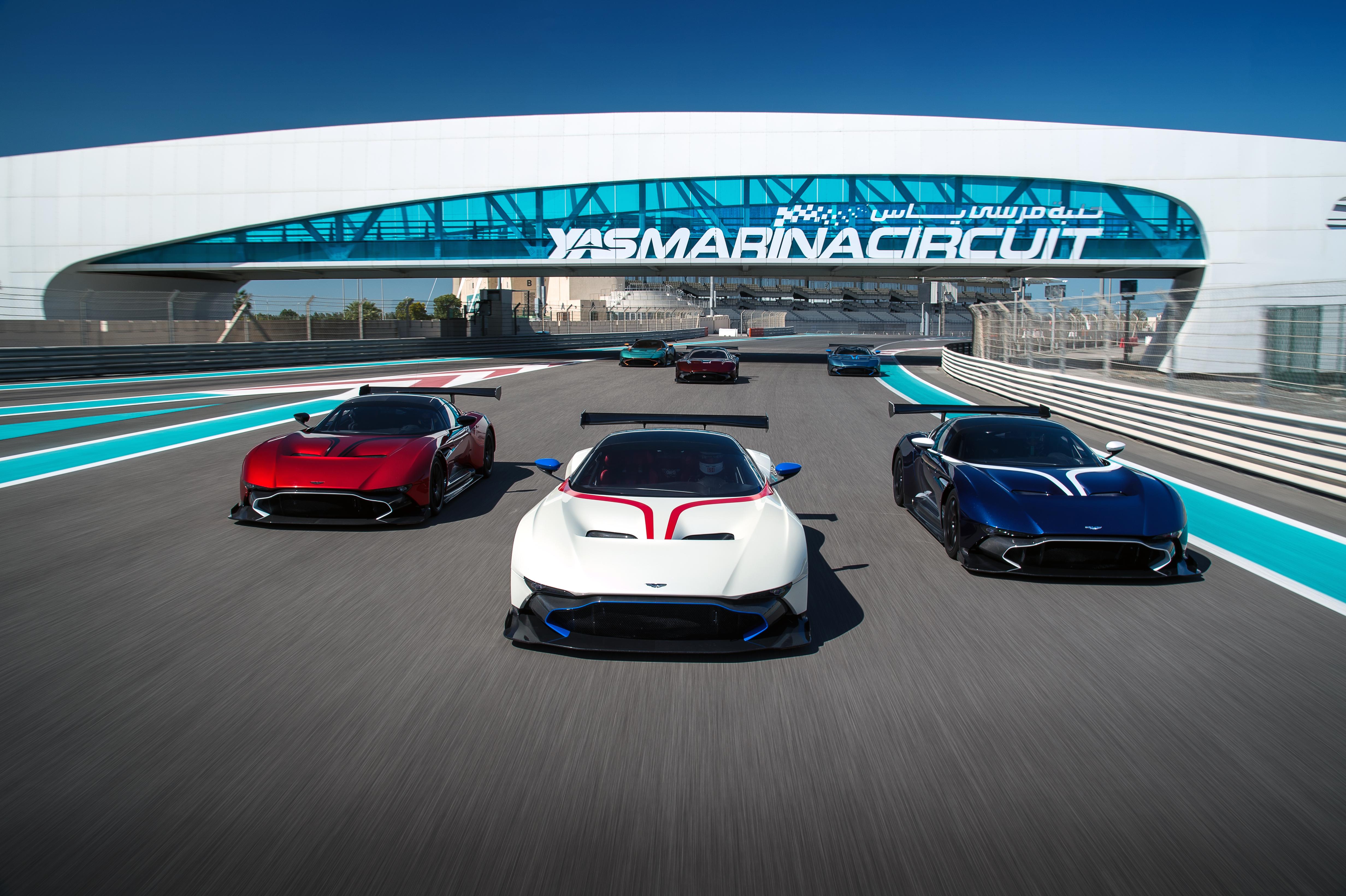 aston martin vulcan: new owners go through racing school