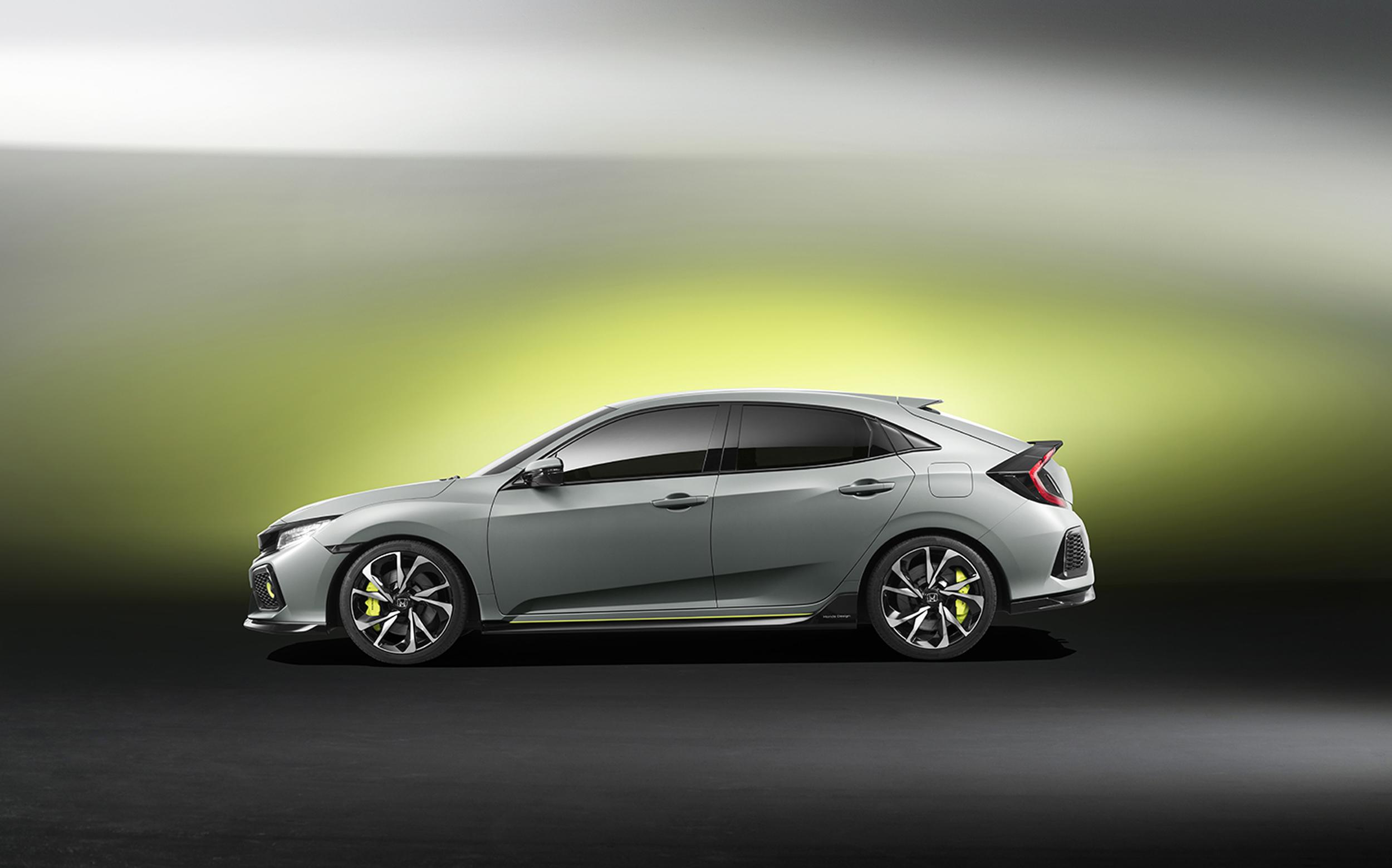Honda Civic Hatchback Prototype Geneva Debut