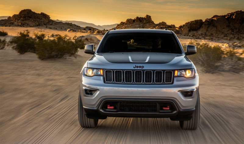 2017 Jeep Grand Cherokee Trailhawk Official Leaked Photos