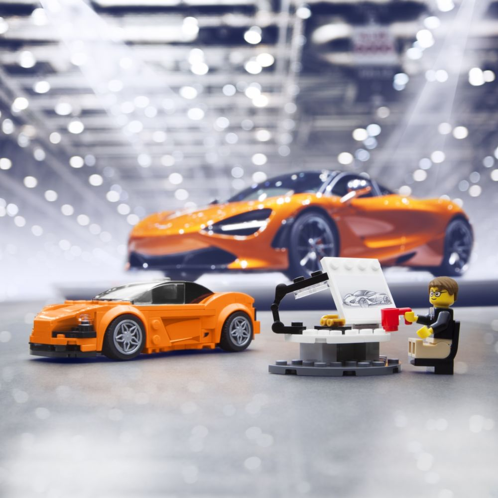 mclaren 720s supercar is now a lego toy art of gears. Black Bedroom Furniture Sets. Home Design Ideas