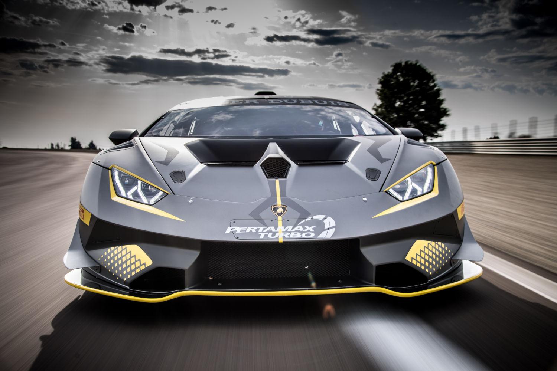 Attractive Lamborghini Huracan Super Trofeo EVO