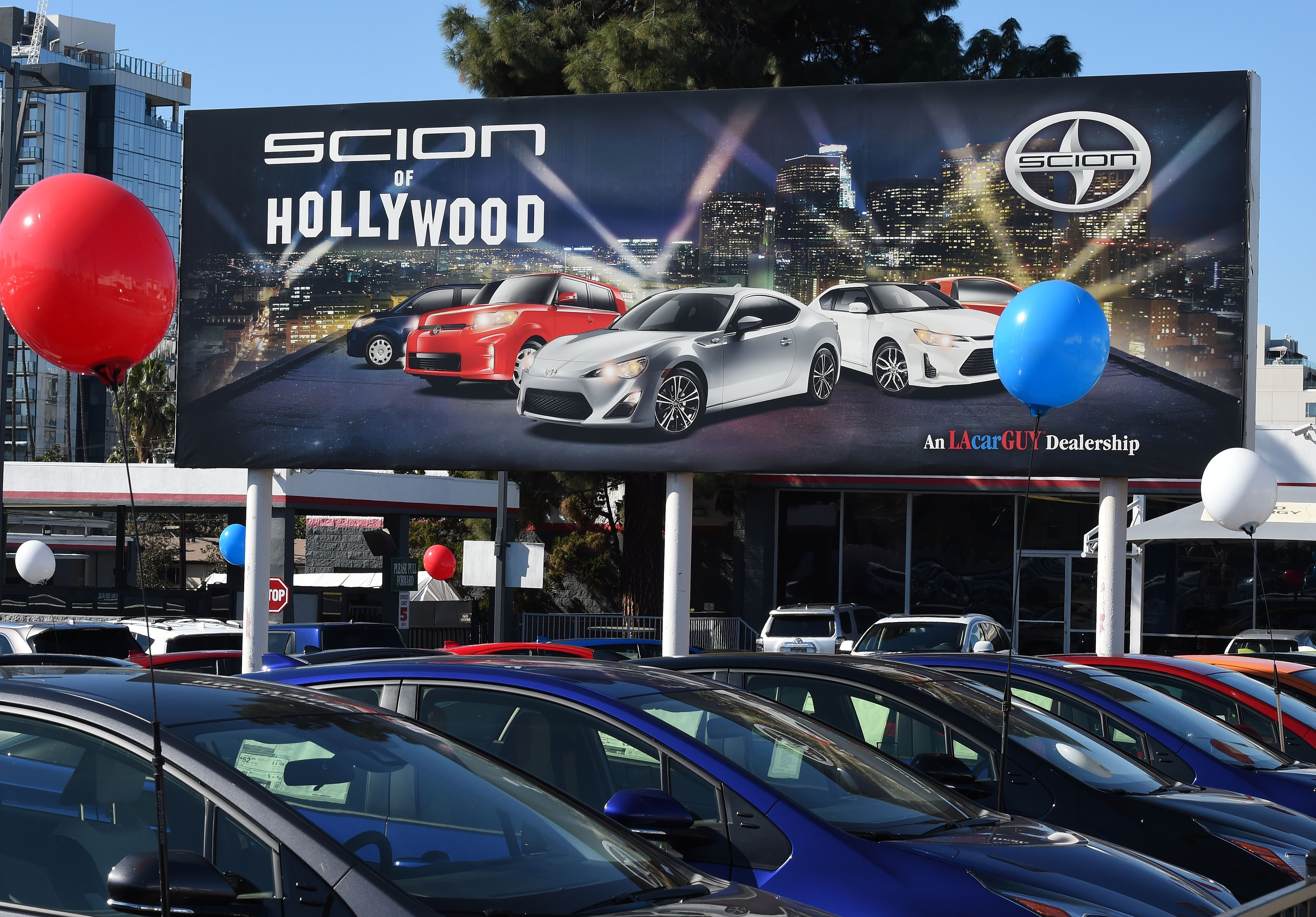 Toyota Dealership In Los Angeles Serving Hollywood Autos