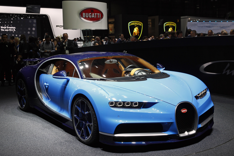 Bugatti Opens Its Largest Showroom In The World In Dubai